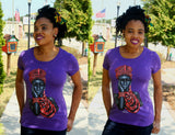 Queen T-Shirt Purple