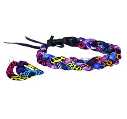 Jide Gear Purpledot Headband Necklace