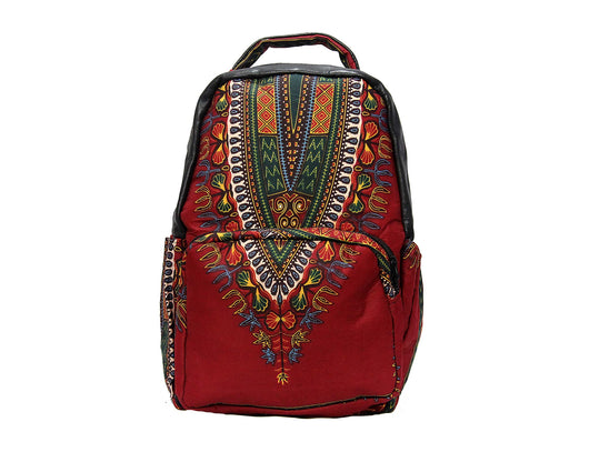 Jide-Gear-Red-Dashiki-Backpack-Front