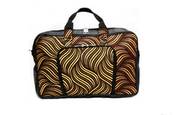 Jide Gear Waves Laptop Ankara Bag Front
