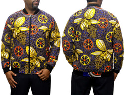 Wheels Ankara Men's Bomber Jacket