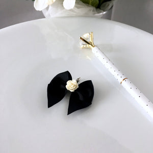 Heirloom Rose Bow Charm