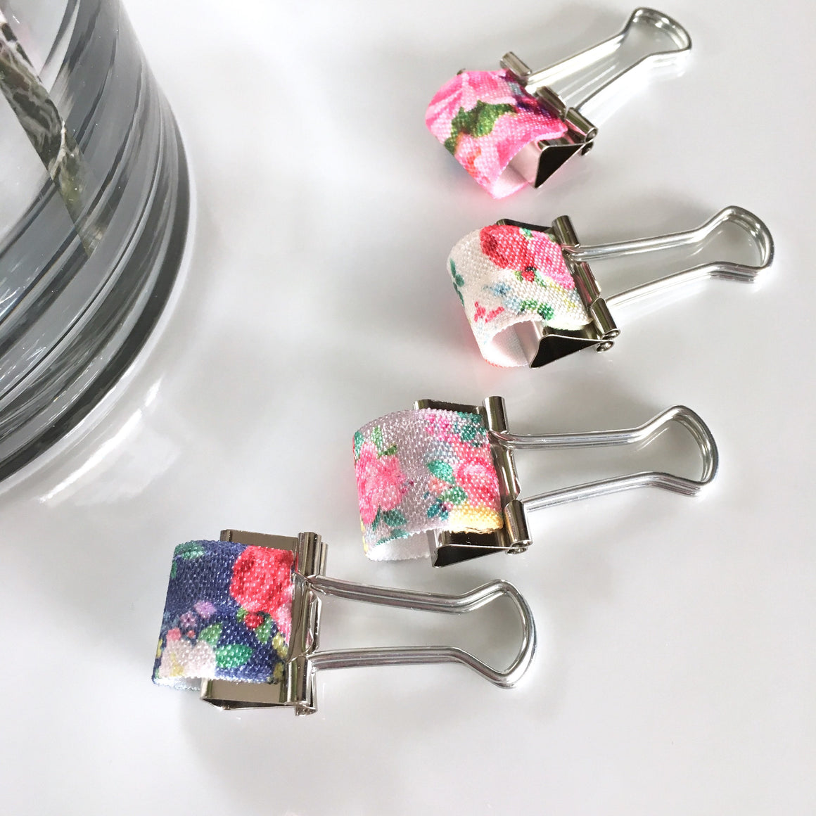 Pretty Floral Pen Holder