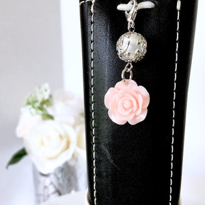 Simply Beautiful Floral Charm
