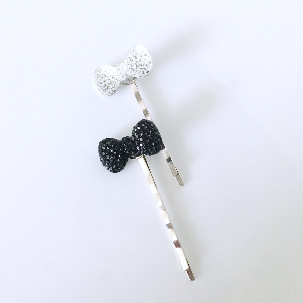 Sparkly Bow Page Clip Set of 2