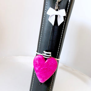 CLEARANCE - Versatile Large Heart & Bow Clip