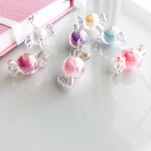 Adorable Iridescent Pastel Wrapped Candy Dangle