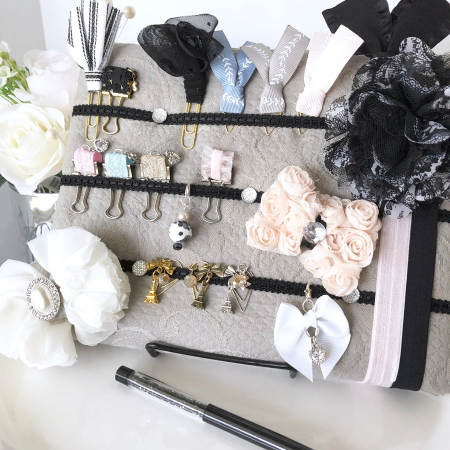 Stunning Couture Accessory Display with Stand
