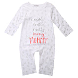 I Love Mom/Dad Romper - TheBabyShoppie