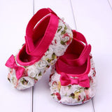 Baby Girl Shoes Flower Bowknot Shoes - TheBabyShoppie
