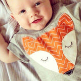Cute Fox Baby Romper - TheBabyShoppie