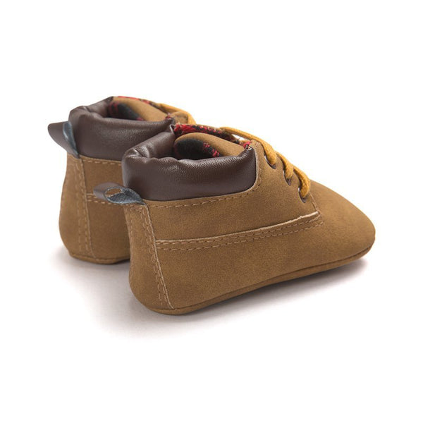 Baby Shoes Boys Soft Sole Crib Slip-On Pre-walker - TheBabyShoppie