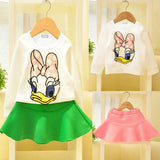 Daisy Duck Outfit - Tops + Skirt - TheBabyShoppie