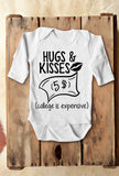 Hug and Kisses Bodysuit - TheBabyShoppie