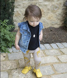 Handmade with Genuine Leather - The Baby Moccs - TheBabyShoppie