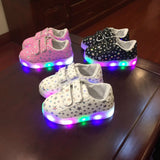 AfroJack LED Sneakers - TheBabyShoppie