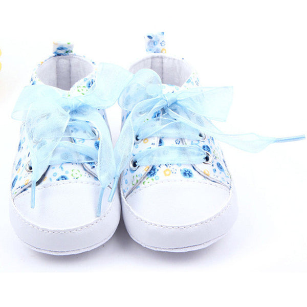 Duran Baby Floral Shoes - TheBabyShoppie