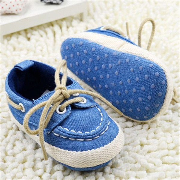 Canvas Lace up Shoes - TheBabyShoppie
