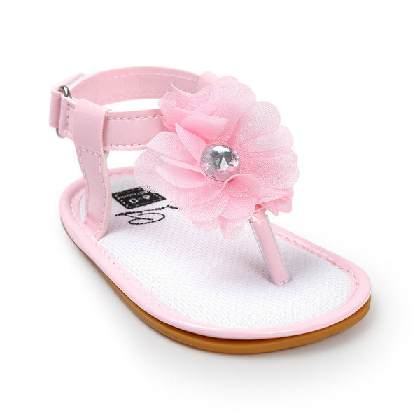 The Baby Flower Sandals - TheBabyShoppie