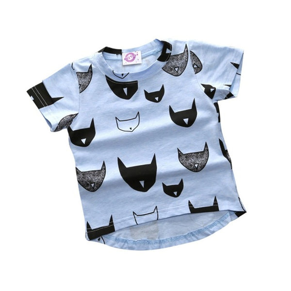 Funky Cats T-shirt - TheBabyShoppie