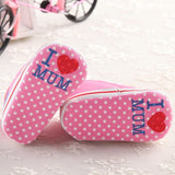 I Love Mum & Dad Baby Shoes - TheBabyShoppie