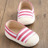 Casual Stripe Baby Shoes - TheBabyShoppie