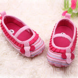 Cotton Cloth First Walker Flower Baby Shoes - TheBabyShoppie