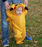 Infant Pikachu Hooded Rompers - TheBabyShoppie