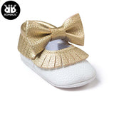 Bow First Walker Moccs - TheBabyShoppie