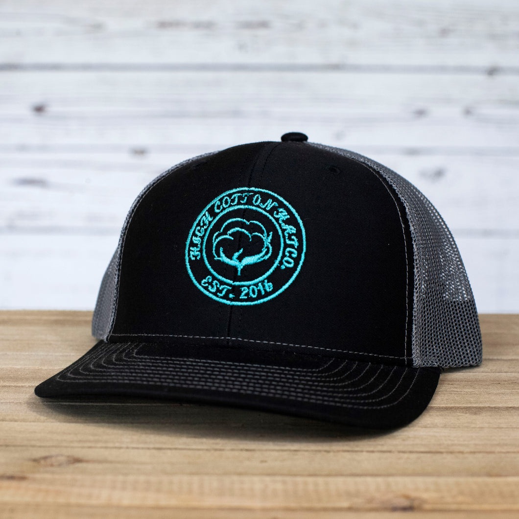 Cotton Circle Black/Charcoal