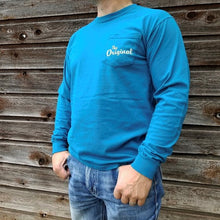 The Original - Topaz Blue Long Sleeve
