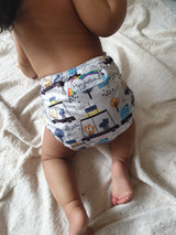 Stay Dry Bamboo Cloth Nappy - Cruising Around