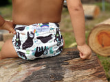 Stay Dry Bamboo Cloth Nappy - Sloths