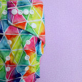 Stay Dry Bamboo Cloth Nappy - Triangles