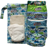 Hippybottomus Trial Reusable Nappy Pack Australia Boy