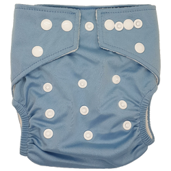 Stay-Dry Bamboo Cloth Nappy - Blue