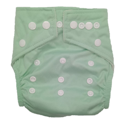 Hippybottomus Modern Cloth Nappy Pastel Mint