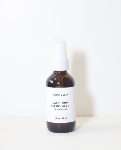 Sweet Root Cleansing Oil : citrus herbal
