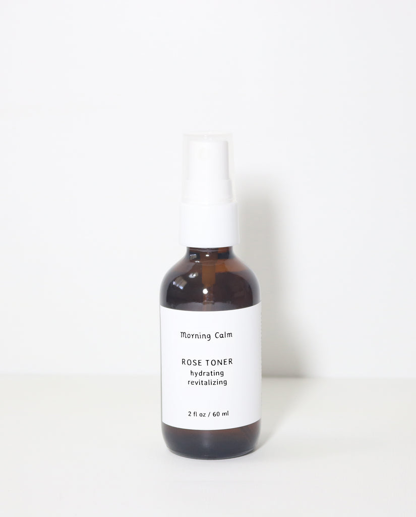 Rose Toner : hydrating + revitalizing