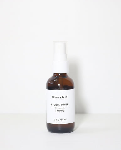 Floral Toner : hydrating + soothing