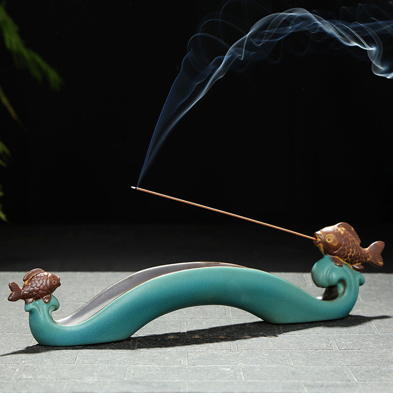 Stick Incense Holder - Vintage Incense Burner