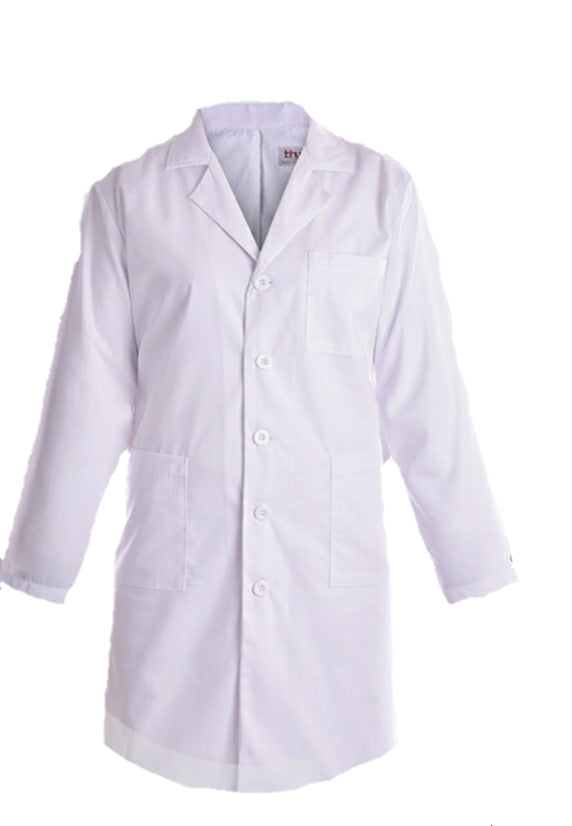 BH Belted Lab Coat With Inner Pockets