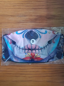 Sugar Skull 2 Face Mask