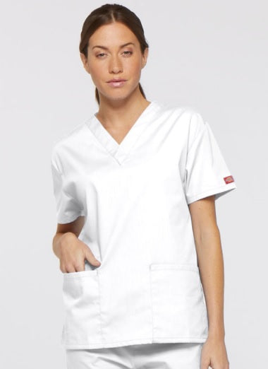 Dickies EDS Signature - Ladies V-Neck Two Pocket Scrub Top