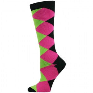 Compression Sock - Diamond Block Fashion