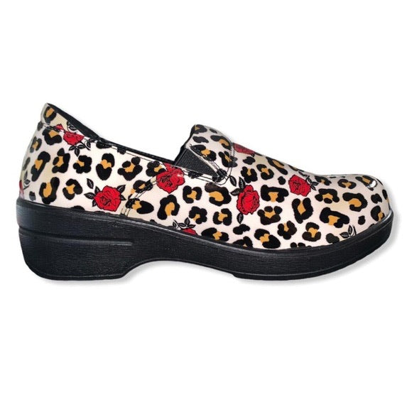 Leopard Rose Mini Marilyn Shoe