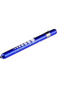 LED Pen Light W/Pupil Gauge (5 colors)
