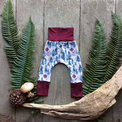 Grow With Me Pants - Purple Haze