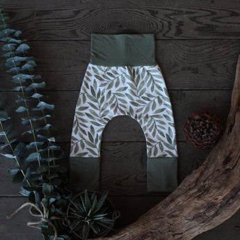 Grow With Me Pants - Leafy Greens