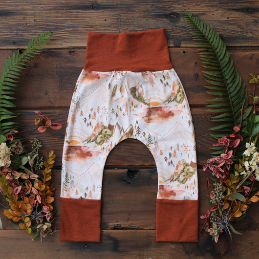 Grow With Me Pants - Sunny Valley